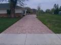 Colored Concrete Walkway